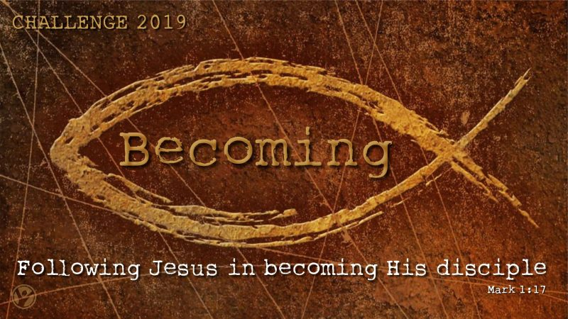 Following Jesus in Becoming His Disciple Image